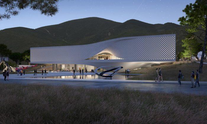 UNStudio postaví roztržené umělecké muzeum vjihokorejském Čchungčchongu