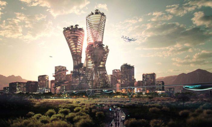 V americké poušti vyroste nové ekologické město Telosa navržené ateliérem BIG