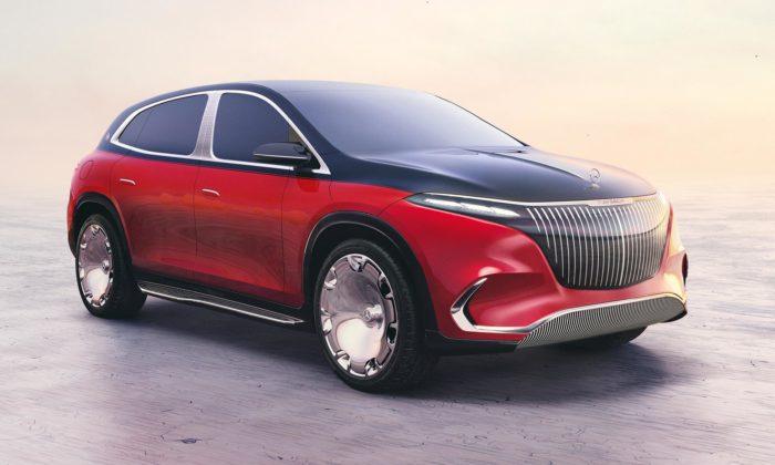 Koncept Mercedes-Maybach EQS ukazuje budoucnost luxusních modelů značky