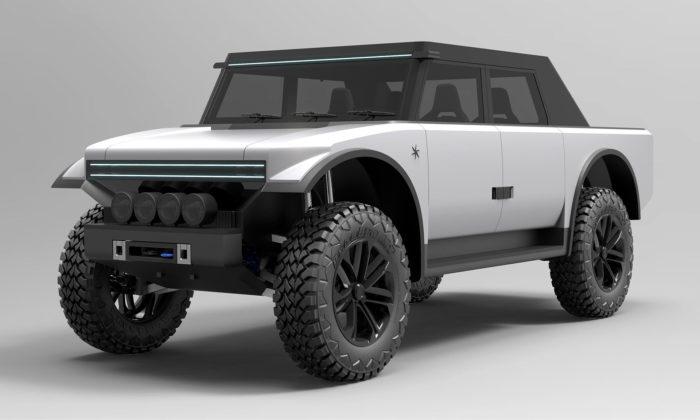 Fering Pioneer jebritský pick-up sminimalistickým designem adojezdem 7000 kilometrů