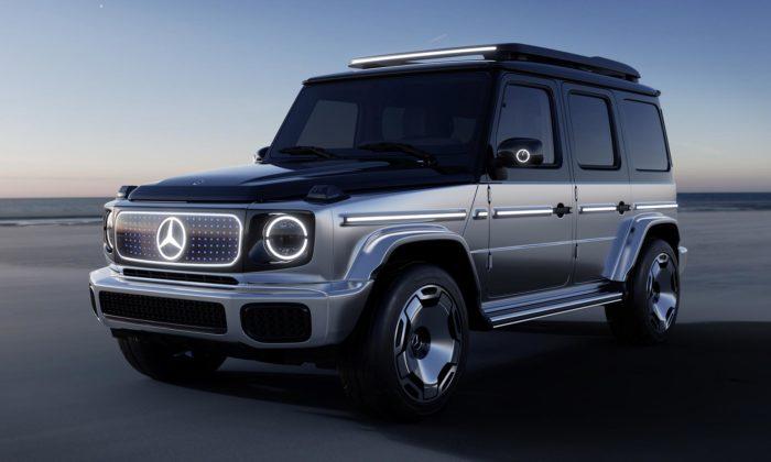 Mercedes-Benz G-Class přijíždí jako elektrický Concept EQG sfuturistickým designem