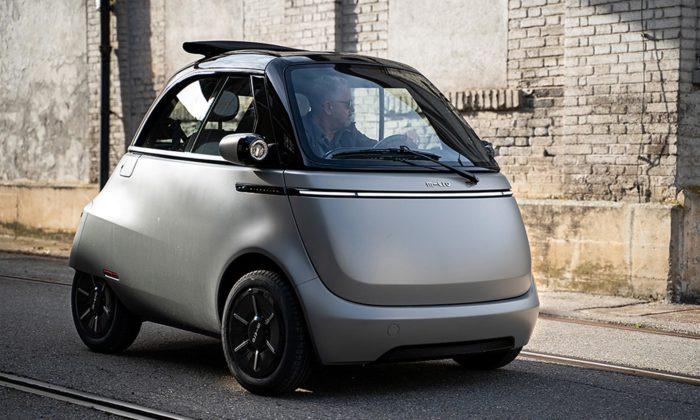 Miniaturní vozítko Microlino 2.0 dostalo propracovanější design exteriéru iinteriéru