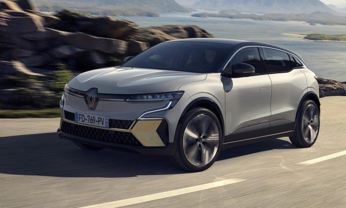 Renault představil čistě elektrický Megane E-Tech sdesignem Sensual-tech