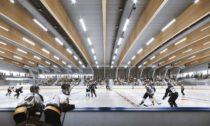 Hokejový stadion Hluboká nad Vltavou podle návrhu ateliéru A8000