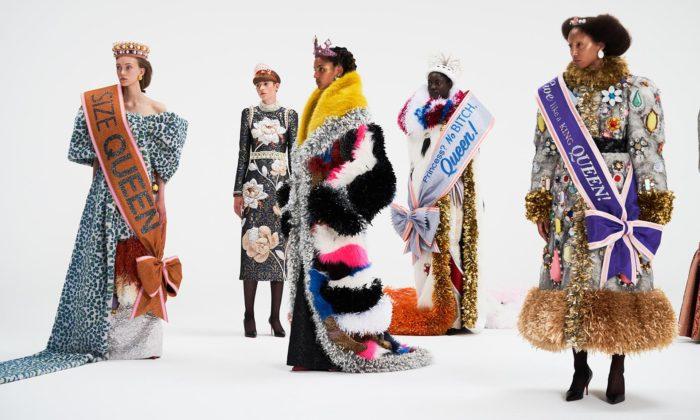 Viktor & Rolf šokují kolekcí extravagantní královských šatů The New Royals
