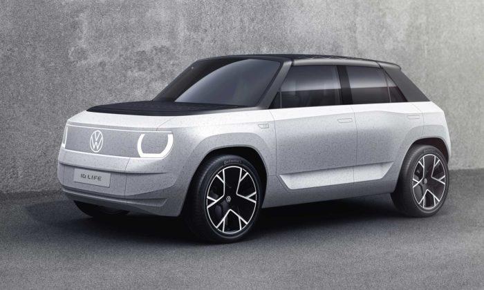 Volkswagen ukázal studii levného elektromobilu ID. Life sminimalistickým designem