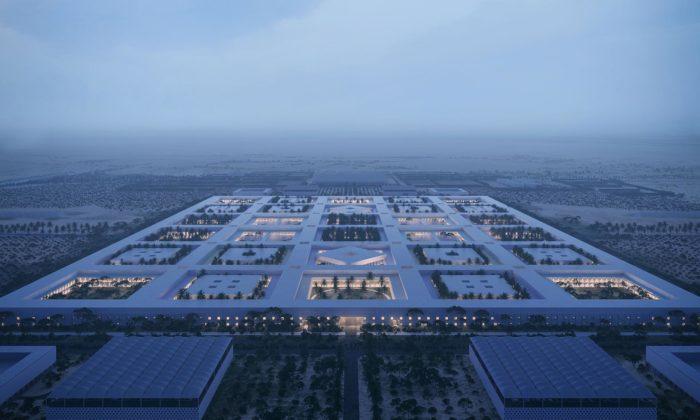 Katar plánuje postavit nemocniční čtvrť budoucnosti podle návrhu OMA
