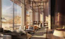 Skalní resort Desert Rock v Saúdské Arábii