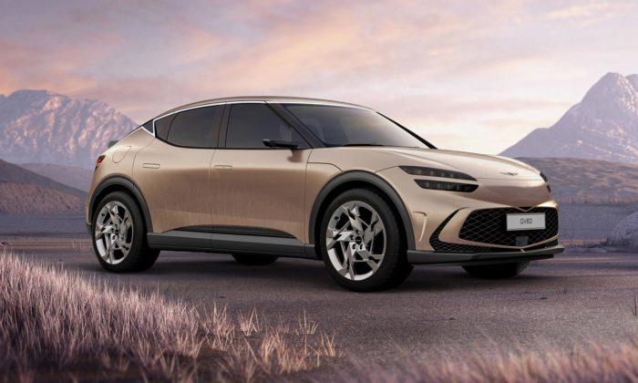 Luxusní značka Hyundai přichází selektrickým crossoverem Genesis GV60
