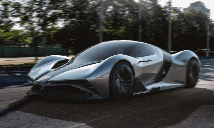 Slováci navrhli koncept supersportovního vozu MH2 navodíkový pohon