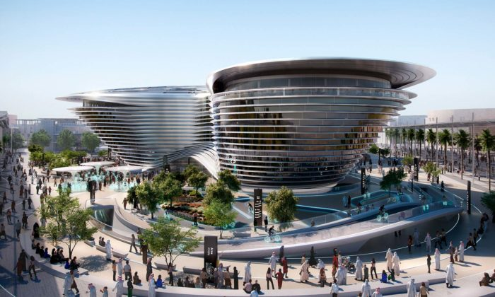 Norman Foster navrhl futuristický pavilon mobility pro Expo vDubaji