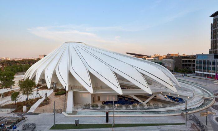 Santiago Calatrava postavil Expo pavilon pro Spojené arabské emiráty