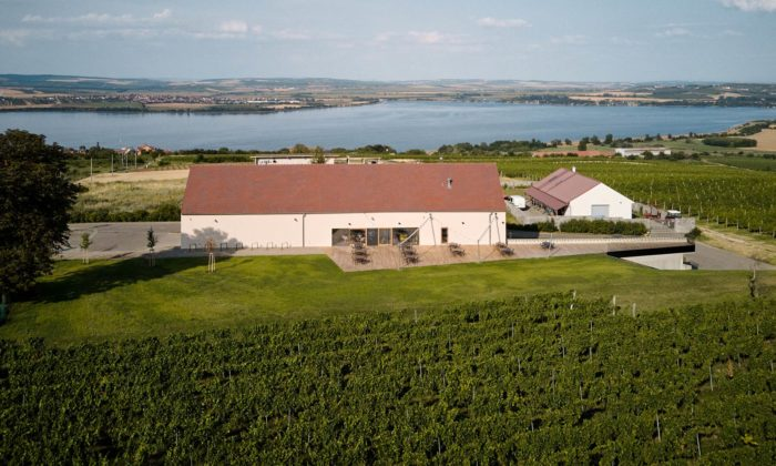 V Pavlově seotevřel Wine bar Reisten svelkou terasou vyhlížející dovinohradu