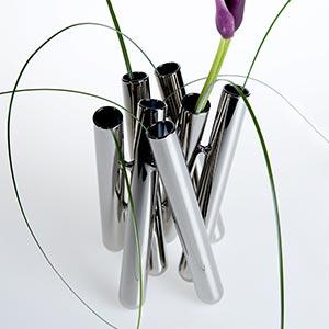 České minimalistické skleněné vázy Seven
