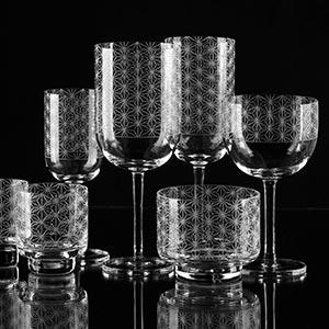 České křišťálové sklenice od Ronyho Plesla