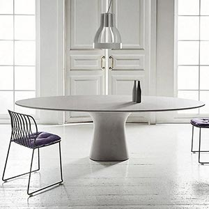 Jedinečný jídelní stůl Podium od Bontempi Casa