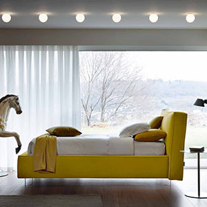 Prémiové italské polstrované postele od Bontempi Letti Design
