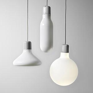 Geometricky tvarovaná svítidla Form